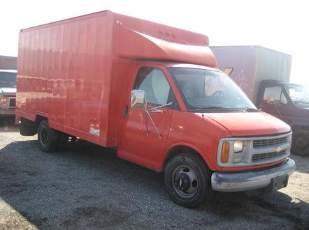 Vans (Step Vans & Box Vans)   Studio Picture Vehicles
