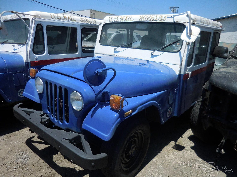 Jeep DJ5 Postal Truck | Studio Picture Vehicles
